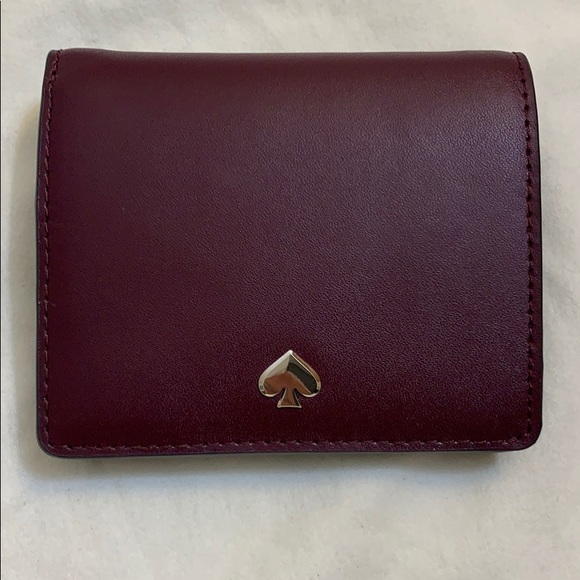 NWT Red Banana Republic Womens Leather Wallet Snap Close MSRP $58.00